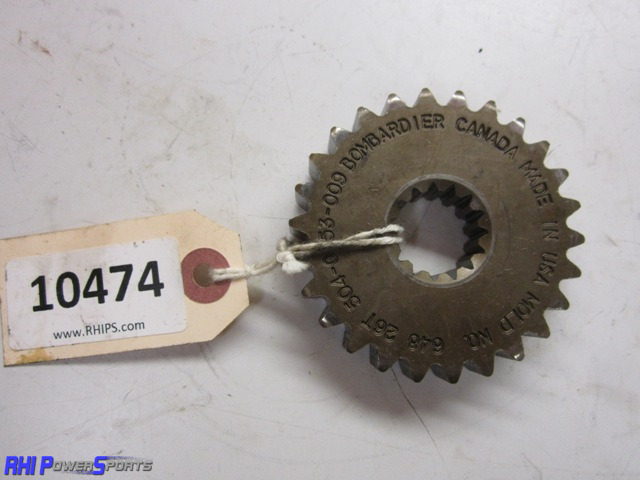Ski-Doo Sprocket - Upper - 26T x 13