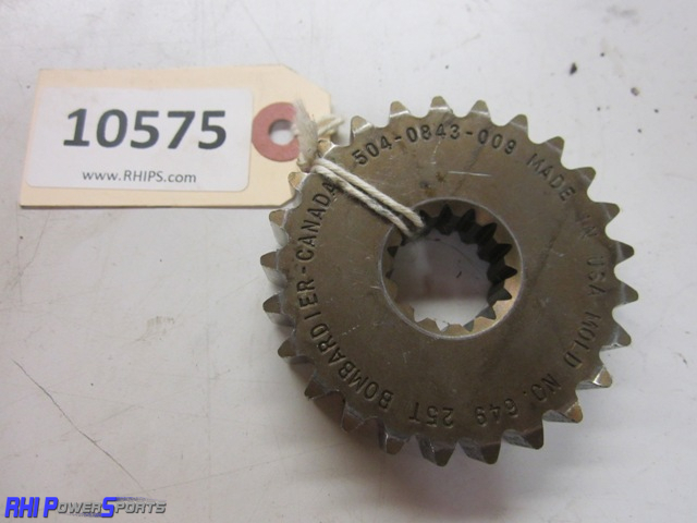 Ski-Doo Sprocket - Upper - 25T x 13