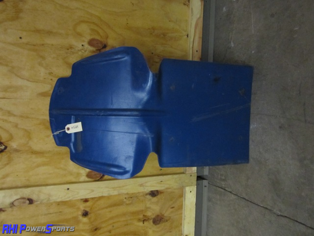 Polaris Skid Plate - Blue