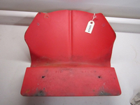 Yamaha Skid Plate - Red