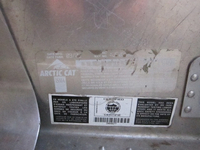 Arctic Cat BULKHEAD / TUNNEL / CHASSIS