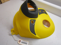 Ski-Doo Center Console with Boot - Yellow