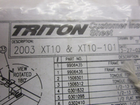 Triton Trailer Instruction Manual