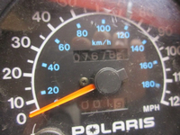 Polaris Speedometer - 7678 Miles
