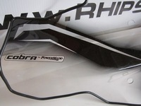 Windshield Replacement - With Headlight Cutout - Powermadd Cobra